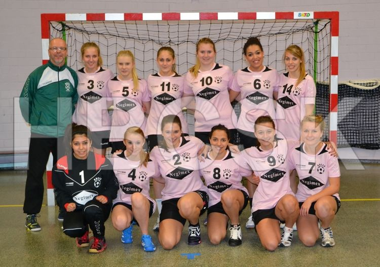 Equipe féminine HBCSK sponsorisée par Negimex