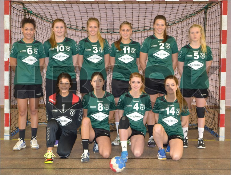 Equipe féminine HBCSK - 2014 / 2015