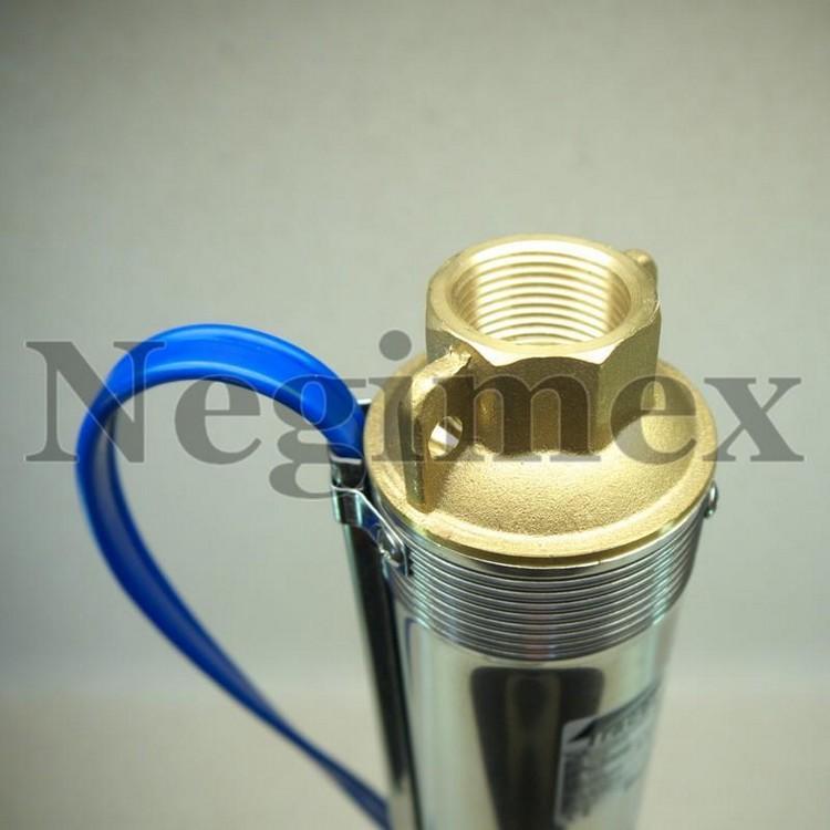 Pompe à eau immergée Y01 avec moteur Stelanox - sortie de pompe