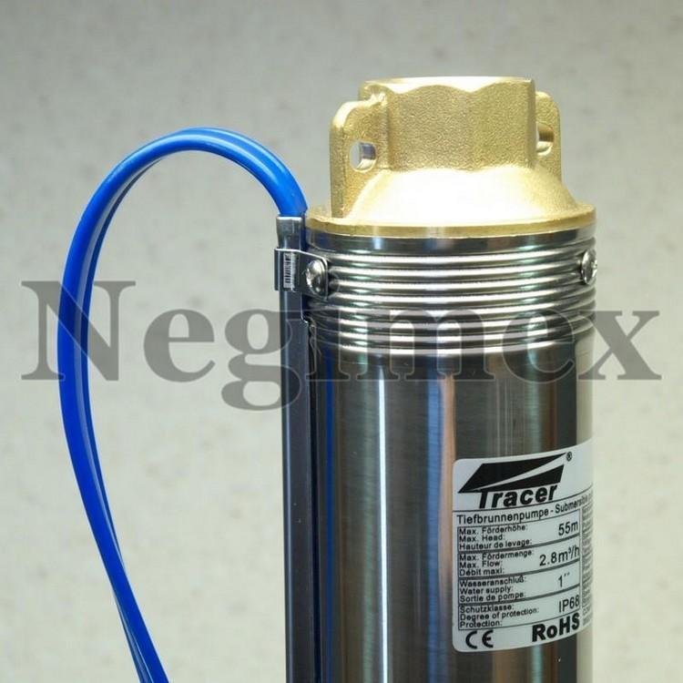 Pompe à eau immergée Y01 avec moteur Stelanox - haut de pompe