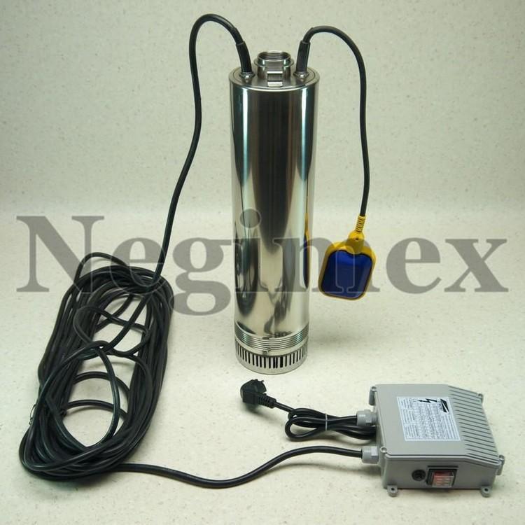Pompe à eau immergée avec flotteur V47 - vue générale