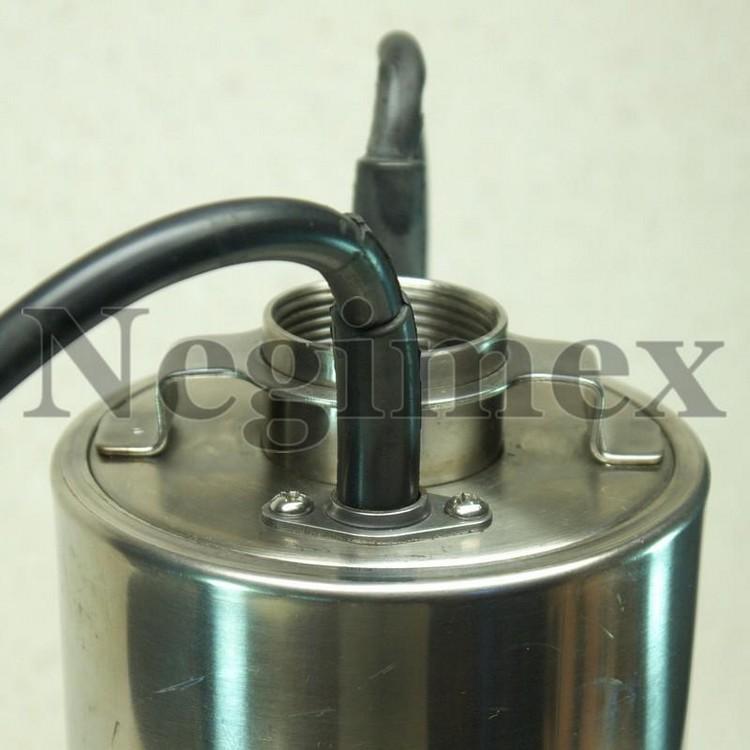 Pompe à eau immergée avec flotteur V47 - haut de pompe
