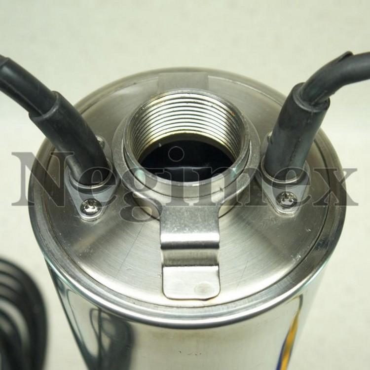 Pompe à eau immergée avec flotteur V47 - vue de de détail de la sortie