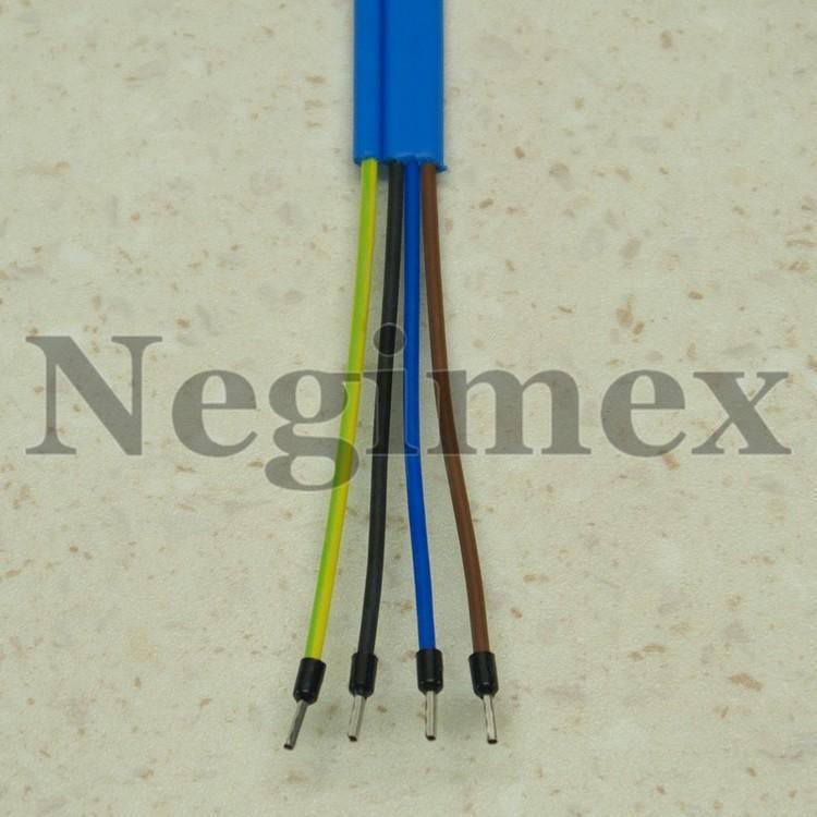 Moteur Stelanox pour pompe immergée - détail du cable